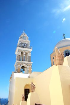 Catholic Church in Fira, Santorini