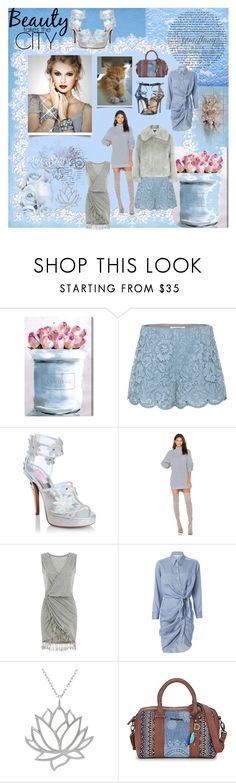 """""""Something blue, and then some ..."""" by lawvel ❤ liked on Polyvore featuring Oliver Gal Artist Co., Valentino, Sugar Thrillz, Lovers + Friends, Veronica Beard, Journee Collection, Desigual and Dsquared2"""