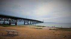 Brücke in Mackinaw City
