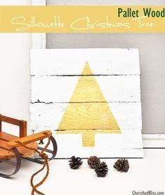 DIY wall art Christmas tree