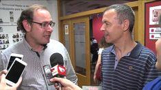 Los medios entrevistan a Juan Carlos Martín
