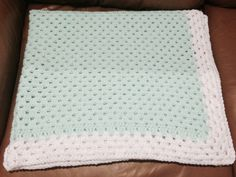 A very special blanket for someone's little treasure!