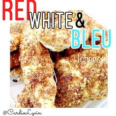 Ring in the RED WHITE AND BLEU this Memorial Day with these spicy baked buffalo fingers!!  CLICK FOR RECIPE!
