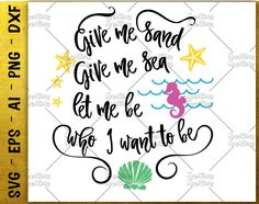mermaid quote SVG mermaid saying svg be a mermaid svg cut cuttable cutting files Cricut Silhouette Instant Download vector SVG png eps dxf by KreationsKreations on Etsy