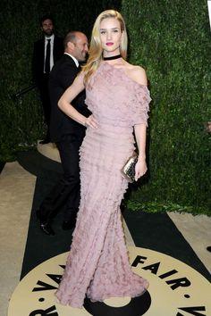 Rosie Huntington-Whiteley in Valentino.