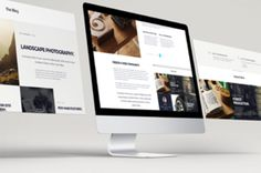 Volume 2 of our psd web screens mockup to showcase your website design. Easily display a comprehensive view of your desktop...