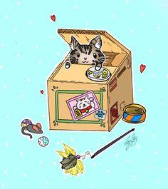 New kitten! by Ccjay25.deviantart.com on @DeviantArt