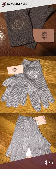 NWT Juicy Couture Gloves NWT  Juicy Couture Gloves Juicy Couture Accessories Gloves & Mittens