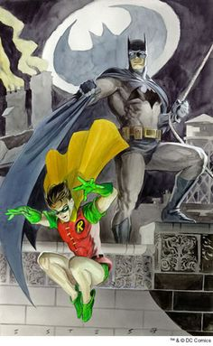 Batman & Robin by John Estes