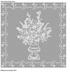 Free Filet Crochet Elephant Pattern : Filet crochet, Elephants and Elephant pattern on Pinterest