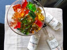 Vodka Soaked Gummy Bears ~ Nik Snacks
