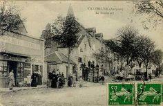 Villeneuve d Aveyron 1918 vu sur  la maison de famille Terroir Aveyronnais !