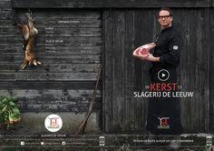 Opdrachtgever: Slagerij De Leeuw | #ButcherAmsterdam Opdracht: Kerstbrochure 3.0 ;) Concept: Back to the roots, Butcher's discipline. Vakmanschap, bewust met smaak. Mijn ingeving: Art direction graphic design #graphicdesign #design #artdirection #butcher #roots #vintage #rifle #hare #pheasant #barn #christmas