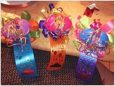 Fiesta San Antonio pins/hair bows.