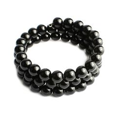 O-stone Agate Courage Bracelet Series Black Agate Bracelet 8mm Grouding Stone Protection ** Check this awesome product by going to the link at the image.