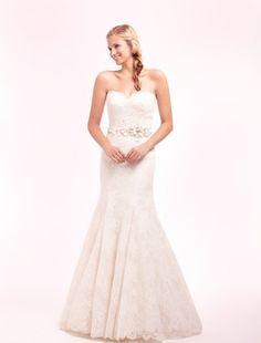 Alita Graham - Sweetheart Mermaid Gown in Lace