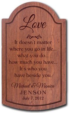 Personalized Carved Lined Border Hardwood Plaque