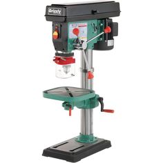 Grizzly G7943 12 speed heavy-duty bench top drill press
