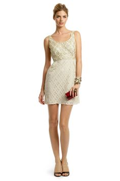 Very cute dress, and I really like the colors.  Material is lightweight. Way too short. Not for tall folks (sorry Roro). Anna Sui, Creme Brulee Scoop Dress ($60 RtR)