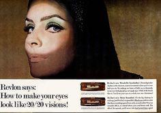ANGELA HOWARD, Revlon Ad - 1966