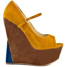 Spotlite heels Mustard brand heels Promise Shoes