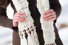 Loopy Scarf Crochet Pattern