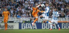 Real Madrid match against Real Sociedad