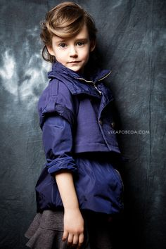 Model portfolio for Sofia Pestryakova by commercial children photographer Vika Pobeda (www.vikapobeda.com) Hair & Make-up: Tatiana Kinyakina