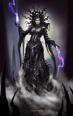 Nightmare Queen by AlexRuizArt on deviantART