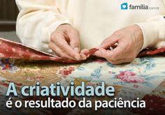 Familia.com.br | Como fazer uma colcha de retalhos #Colchaderetalhos #Criatividade