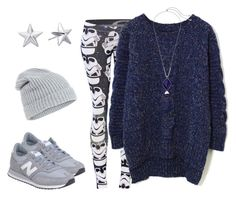 """""""Weekend (Star)Warrior"""" by csdesbiens on Polyvore featuring Chicwish, Rebecca Minkoff, Accessorize, Lucky Brand, New Balance, casual and starwars"""