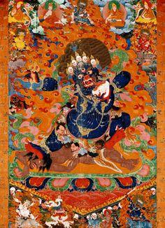 Tibetan depiction of Maya mid-17th-early-18th century Metropoliton Museum of Art
