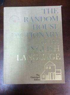 The Random House Dictionary of the English Language The Unabridged Edition 1967