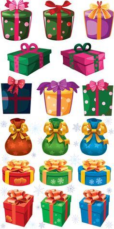 Christmas presents templates vector Christmas Yard Art, Christmas Window Decorations, Christmas Frames, Christmas Drawing, Christmas Paintings, Christmas Crafts For Kids, Christmas Pictures, Christmas Projects, Vintage Christmas