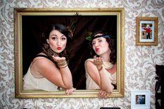 victorian photobooth diy door backdrops - Google Search