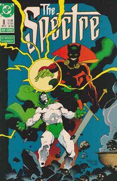 The Spectre v2 #8. Mike Mignola Cover Art. Doug Moench Story. Armed Against Evil.
