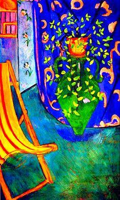 Henri Matisse - Corner of studio
