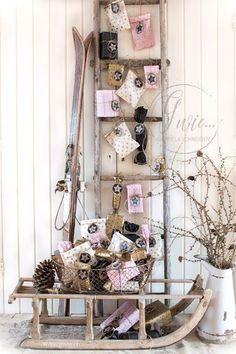 : Advent calendar Ideas hristmas is the most liked of vacations when everybody receives anything, therefore we have to choo Christmas Time, Xmas, Merry Christmas, Holidays Around The World, Blog Deco, Ceiling Decor, Holidays And Events, Ladder Decor, Advent Calendar