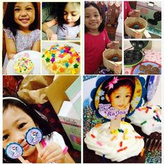 """From our buyer: """"The kids and I were so happy with the cupcake maker. Hope to have more free time to make some again.""""  You too can bake with the Smart Planet or Delish Treats units  Click LIKE for summer vacation and baking time!  ."""