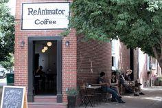Reanimator Coffee.  Locations in Fishtown & Kensington, Philadelphia, PA