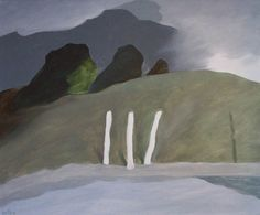 'Three Poles' by Toni Onley at Mayberry Fine Art