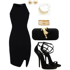 A fashion look from April 2013 featuring Elizabeth and James dresses, Giuseppe Zanotti sandals and Talullah Tu clutches. Browse and shop related looks.