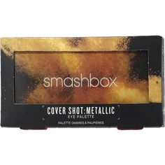 Smashbox Cover Shot Metallic Eye Palettes (1,345 DOP) ❤ liked on Polyvore featuring beauty products, makeup, eye makeup, eyeshadow, smashbox eyeshadow, smashbox eye shadow, smashbox eye makeup, smashbox and creamy eyeshadow