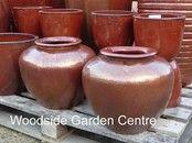 Large Glazed Pots Garden Planters and Vases | Woodside Garden Centre | Pots to Inspire