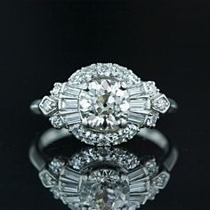 Granat Brothers Diamond Engagement Ring