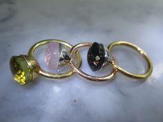 Weiteres - Armband Nudo Solitär Rauchquarz Ring Tropfen Kette - ein Designerstück von TOMKJustbe bei DaWanda