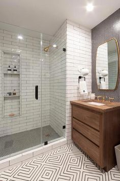 Modern Farmhouse, Rustic Modern, Classic, light and airy master bathroom design tips. Bathroom makeover a few ideas and bathroom renovation suggestions. Diy Bathroom Remodel, Bathroom Renos, Small Bathroom Renovations, Bathroom Cabinets, Bathroom Makeovers, Shower Remodel, Bathroom Shelves, Bathroom Storage, Bad Inspiration