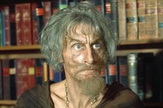 Geoffrey Bayldon (1924-2017) in the world famous character 'Catweazle'