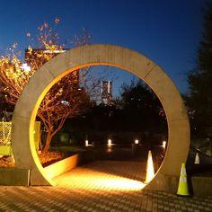 山下公園からみなとみらいを  #横浜 #夜景 #空 #夜空 #冬空 #山下公園 #みなとみらい #ランドマークタワー #japan #yokohama #sky #skyline #nightview #winter #park #building