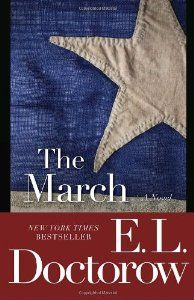 The March by E. Doctorow A powerful account of General Sherman's march through Georgia and the Carolinas, telling the stories of numerous characters, both fictitious and based upon real people, involved in the march. Historical Fiction Books, Fiction And Nonfiction, Fiction Novels, War Novels, Great Books, My Books, Reading Books, Shermans March, The Dispossessed